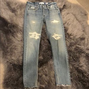 Re/Done Originals Low Rise Skinny